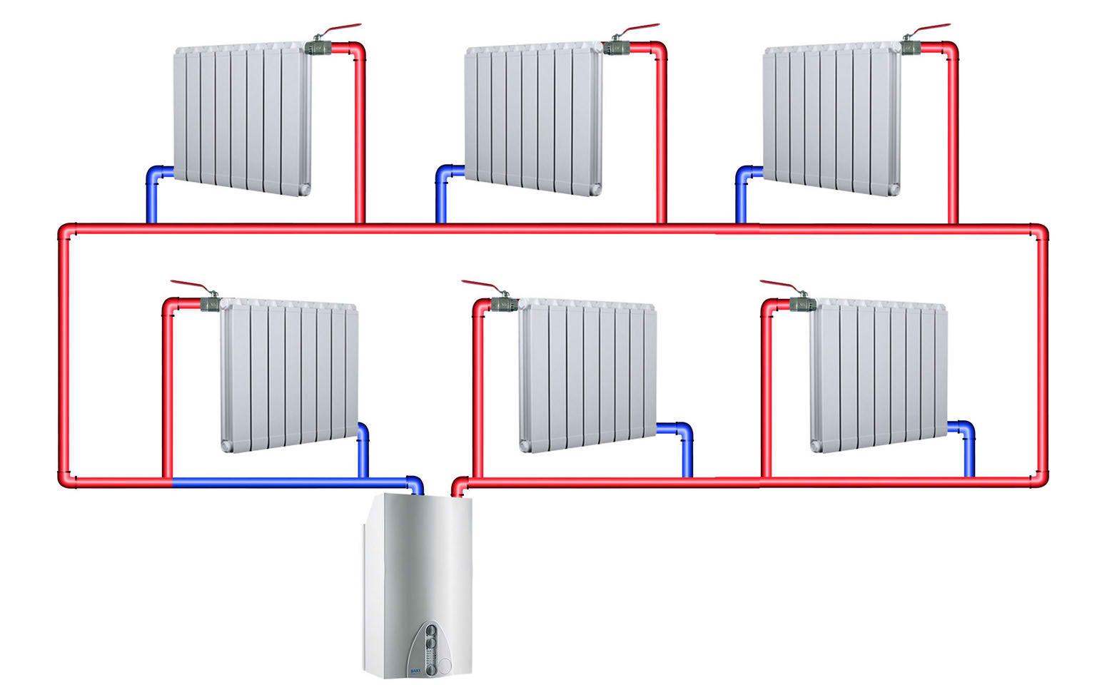 схема отопления 5 этажного панельного дома